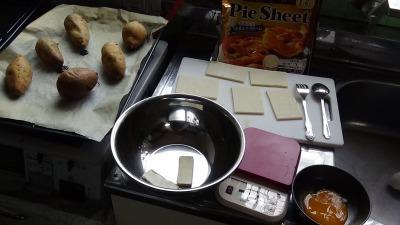 安納芋パイ 材料
